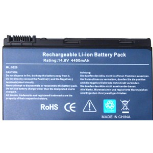 Аккумулятор для Acer GRAPE34, TM00742 (14.8V)